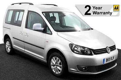 2011(11) VOLKSWAGEN CADDY 1.6 TDi LIFE SIRUS DRIVE FROM AUTO WHEELCHAIR ACCESS