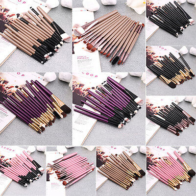 Set of 15PCS  Professional pieces brushes pack complete make-up brushes  MG
