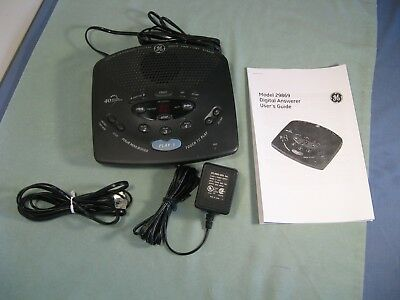 GE Answering Machine 29869GE2A With Four Mailboxes & 40 Minutes Record Time