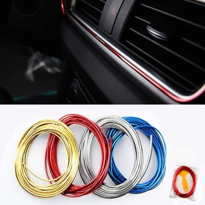 5M Door Panel Gap Trim Molding Moulding Strip Line For Car Interior Accessory