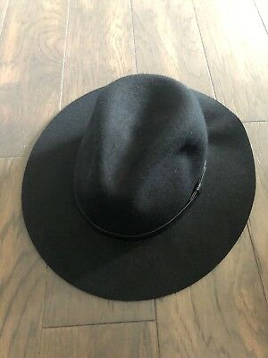 6ec60e5053bc2 ECOTE URBAN OUTFITTERS Hipster Black Wide Brim Hat New With Tags ...