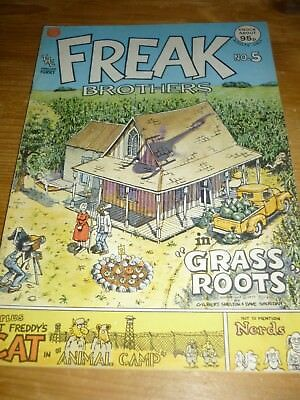 The Fabulous Furry Freak Brothers Comic Number 5.