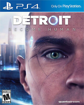 Detroit Become Human Deluxe Edition + Heavy Rain Ps4