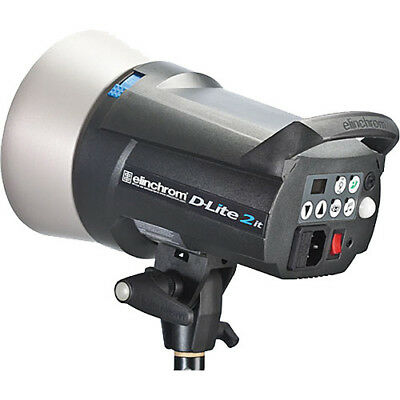 BRAND NEW Elinchrom D-Lite 200W/s RX 2 Flash Head EL20486.1 OFFICIAL DEALER