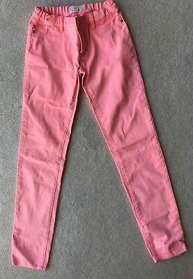 Girls Pink 'Country Road' Skinny Jeans (Size 12)