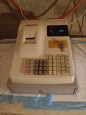 Sharp XE-A150 Cash Register with Keys Works