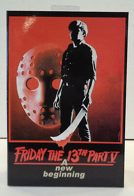 """Friday The 13th Part V: Jason Voorhees 7"""" Action Figure (2018) NECA New"""