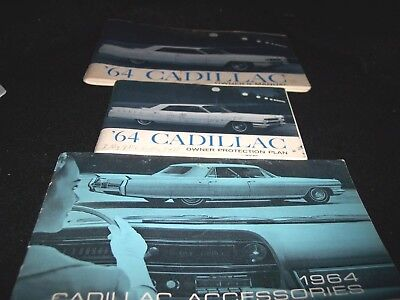 Complete Owners Manual For 1964 Cadillac Fleetwood, Coupe Deville, Eldorado