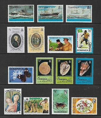 DOMINICA mixed collection No.6, mint MNH MUH