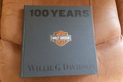 Willie G autograph signed in a 100 Years of Harley- Davidson