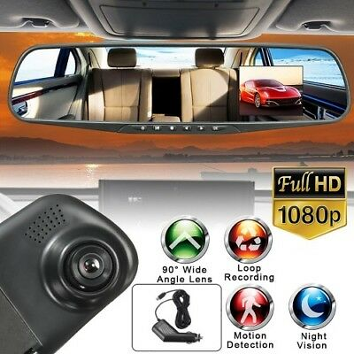 7.84 Inch LCD DVR Video Dash Cam Recorder|1080P FHD CAMERA - FASTShipping to USA