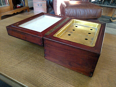 Rare 1908 Sargent Cigar Chest Humidor