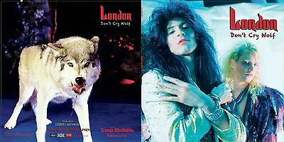 """Free London """" Live"""" Cd With Purchase Of """"don't Cry Wolf"""" Cd! Kim Fowley Produced"""