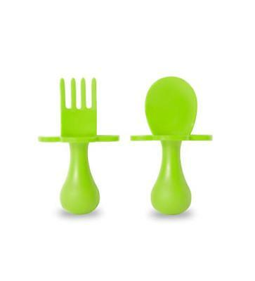 First Self Feeding Utensil Set of Spoon and Fork for Toddler and Baby FREE SHIPP