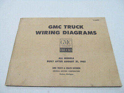 1965 gmc truck wiring diagrams all models built after august 1965 gmc tractor 1965 gmc wire diagram #12