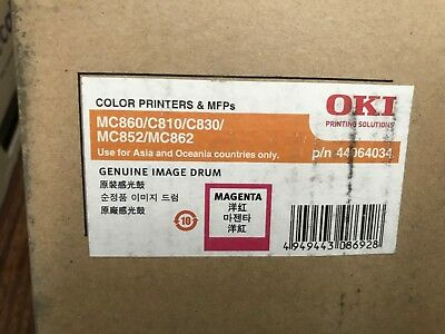 1 x Genuine OKI C810 C830 MC860 Magenta Imaging Drum Unit