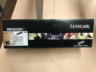 1 x Genuine Lexmark W84020H Hi-Yield Toner Cartridge