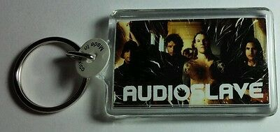 As-Is Audioslave Flame Fire Group Photo Music Key Chain Keychain