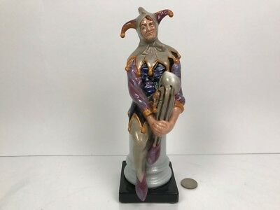 """Large Royal Doulton Figurine """"The Jester"""" HN2016 Mint RARE -For a FUNDRAISER !!!"""
