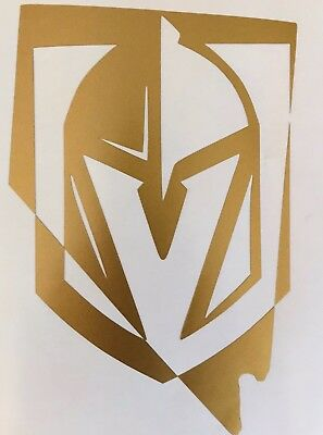 Las Vegas Golden Knights 2018 Stanley Cup Yeti NHL Vinyl Decal Window Sticker