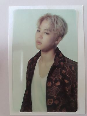 BTS JIMIN Wings Concert Official Transparent Photo Card for 3rd ARMY photocard