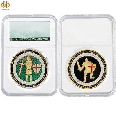 USA Liberty Defend The Faith United States Navy Military Commemorative Coin