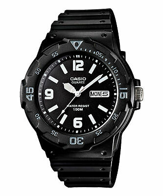 Casio Men's Core MRW200H-1B2V Black Resin Analog Quartz Sport Watch