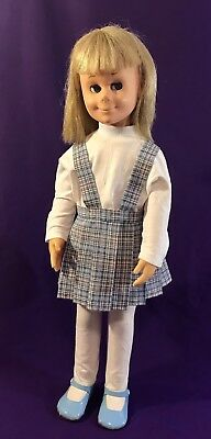 "Robe Nightgown 24/"" Charmin Chatty Cathy Doll Clothes Vintage Pattern~ Dress"