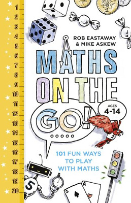 Maths on the Go: 101 Fun Ways to Play with Maths, Very Good Condition Book, Aske