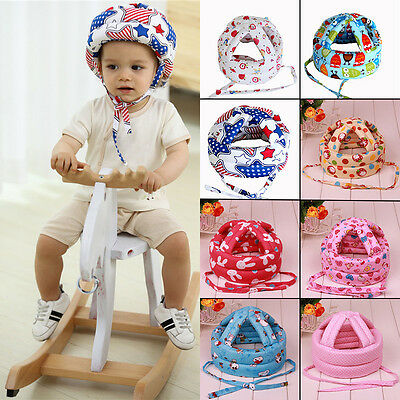Infant Toddler Safety Helmet Baby Kid Soft Sponge Head Protect Hat Walking Crawl