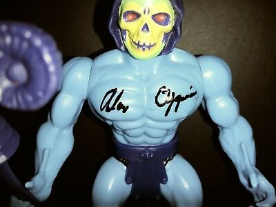 MOTU SKELETOR 2 Masters of Universe signed by Alan Oppenheimer.