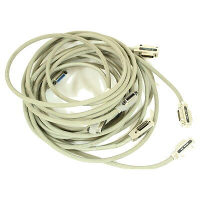 Lot of 4 4.5 to 5 meter GPIB HPIB IEEE-488 Interface Cables various brands