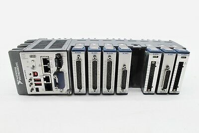 National Instruments NI cRIO-9038 Controller with 8-Slot  Chassis Free 7 modules
