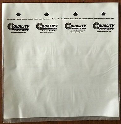 Qrp Quality Records 10 Inner Sleeves Not Branded As Mobile Fidelity Mofi
