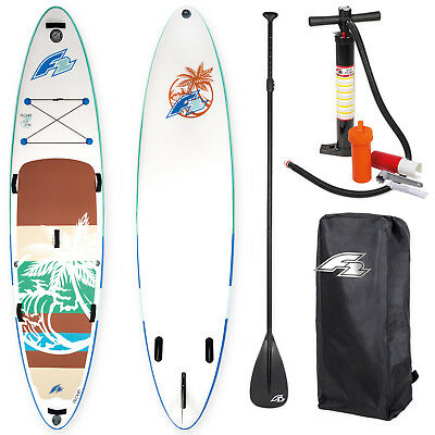 "F2 Sup Aloha 11,5"" 2018 Stand Up Paddle Board Aufblasbar ~ Testboard"