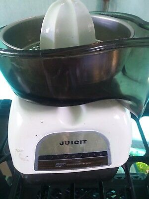 VINTAGE ~  Proctor Silex Juicit  Electric Citrus Orange JUICER  ~ J101WA
