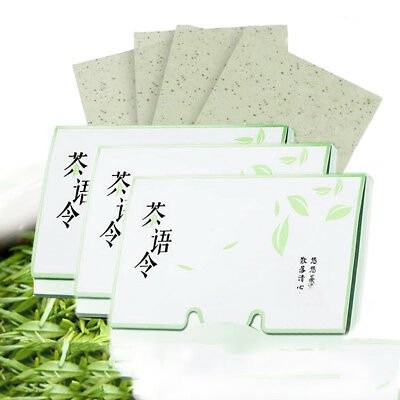KD_ 100Pc Facial Oil Absorbent Sheet Oil Control Film Blotting Paper Beauty To