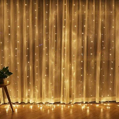 String Fairy Lights 2M-100M LED Battery Operated Xmas Lights Party Wedding Party