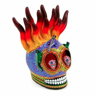 Dia De Los Muertos Butterflies & Insects Skull Day of the Dead Mexican Folk Art