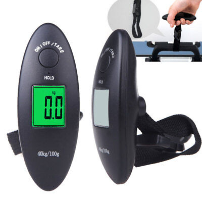 40kg/100g Electronic Portable LCD Digital Luggage Scale Travel Hanging Weight