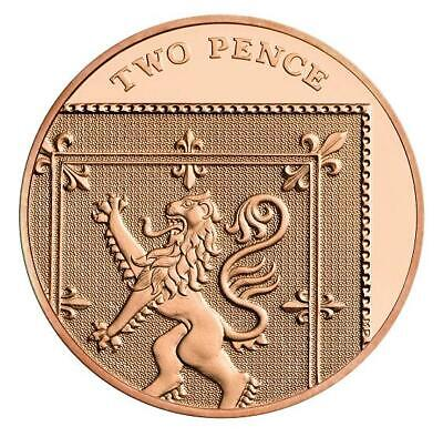 2018 Royal Mint Royal Shield BU 2p Two Pence Coin - Brilliant Uncirculated