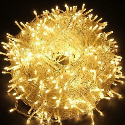String Fairy Lights 2M-100M LED Plug In Operated Xmas Strip Party Wedding Tree