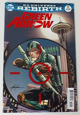 Green Arrow -  DC Universe Rebirth - Issue # 21 - DC Comics - 2017 - NM/VF - 727