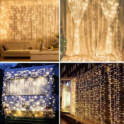1-4X String Fairy Lights 2M 3M 5M 10M LED Plug In Christmas Tree Party Wedding