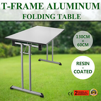 25''x52'' Folding Table Portable Plastic Indoor Outdoor Picnic Party Camp Tables