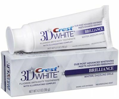 Crest 3d White Brillance Menthe Dentifrice 121ml