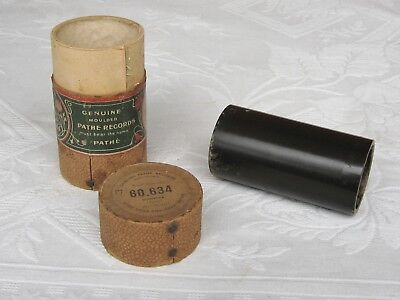 Pathe Phonograph Cylinder Record ~ Music Hall song ~ Harry Bluff