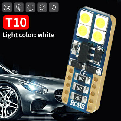 38C8 T10 8smd 3030 LED Bulb Car Width Lamp 480LM Replace License Plate Lamp