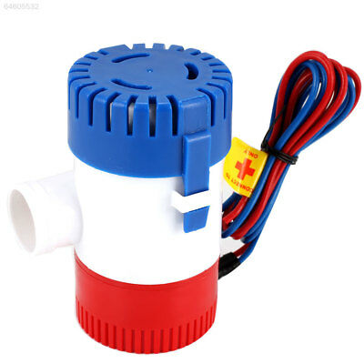 5F39 1100GPH RV Bilge Pump 12V Submersible Bilge Water Pump Yacht Silent