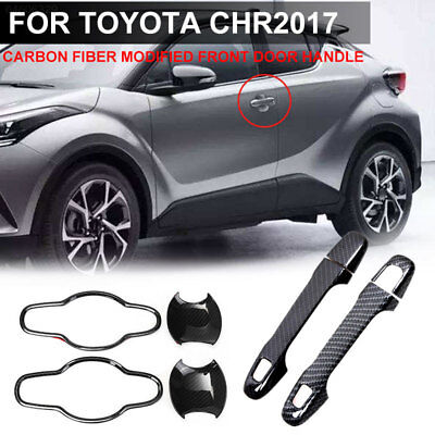 7954 Car Handle Car Handle Black Auto for CHR2018 Front Door Handle Handlebar